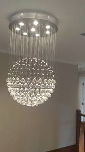 chandelier magnets installed this cool chandelier today pics