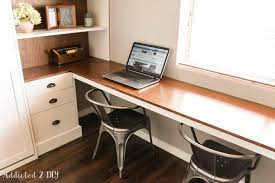 Diy Modern Desk Diy Modern Farmhouse Murphy Bed How To Build The Desk Free
