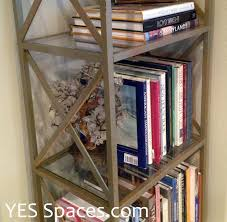 diy a stunning gold bookcase for under 52 ikea hackers