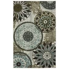 Area Rugs India Mohawk Home Inspired India Multi Printed 5 Ft X 7 Ft Area Rug