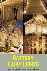 Living Home Outdoors Battery Operated Led Gazebo Chandelier by Best 25 Outdoor Battery Fairy Lights Ideas On Pinterest Garden