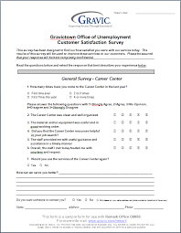 office of unemployment customer satisfaction survey remark software