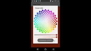 android color picker color picker 0 1
