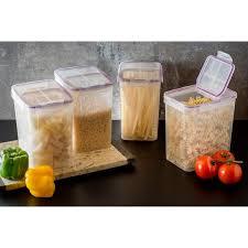 snapware airtight plastic 23 cup fliptop food storage container 4