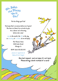 oh the places you ll go baby shower dr seuss inspired baby shower invitation oh the places you ll