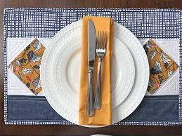 set the table with festive diy quilted placemats spoonflower
