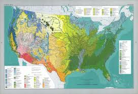 Geographic Map Of The United States by William Cronon 469 Handout 3 Introduction To North America