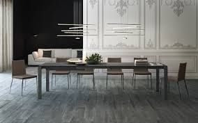 Anthracite Laminate Flooring Modloft Napoli Dining Table Md539 Official Store