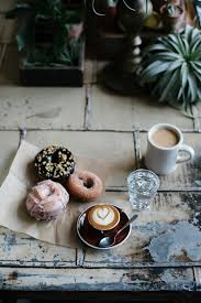 style crush that friday feeling coffee donuts and doughnuts