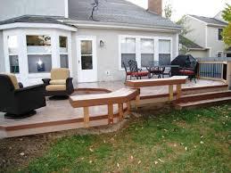 Deck In The Backyard Timbertech Decks U2013 Columbus Decks Porches And Patios By Archadeck