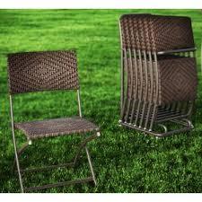 Vintage Aluminum Folding Chairs Patio Dining Chairs You U0027ll Love Wayfair