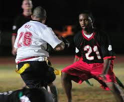 Intramural Flag Football 554th Rhs Lock Up 736th Sfs Secure Second Intramural Football
