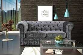 2 Seater Fabric Chesterfield Sofa by Velvet Chesterfield Sofa Ebay Tehranmix Decoration