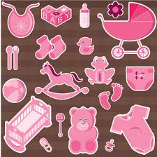 baby shower paper baby shower girl stickers free printable papercraft templates