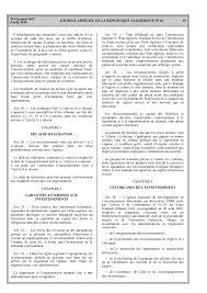 chambre nationale des huissiers de justice algerie nouveau code des investissement algerie 2016