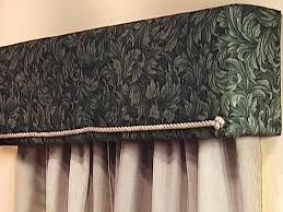 Upholstered Cornice Designs How To Build And Install An Upholstered Window Cornice Box