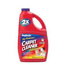 Rug Shampoo Machines Rug Doctor 48 Oz Pet Formula Carpet Cleaner 4066 The Home Depot