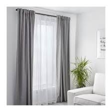 Decorative Rods For Curtains Style Selections 48 In To 84 In Matte Black Steel Single Curtain