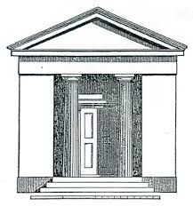 the greek revival architecture of the american one room as