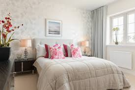 Pink And Gray Curtains London Glass Ball Table Bedroom Contemporary With Gray Curtains