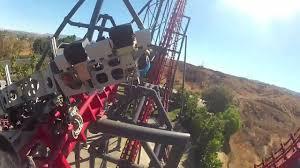 Six Flags X2 X2 Roller Coaster Six Flags Magic Mountain Amusement Park