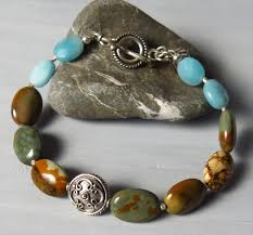 bracelet handmade jewelry images Handmade wild horse jasper bracelet handmade jewelry jpg