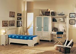 Modern Kid Bedroom Furniture Bedroom Beautiful Blue Yellow Wood Glass Luxury Design Bedroom