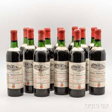 learn about chateau troplong mondot chateau troplong mondot 1970 12 bottles sale number 3006b lot