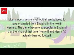 where did football come from which country