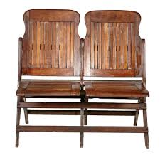 vintage early 1900s heywood wakefield stadium double seat u2013 2bmodern
