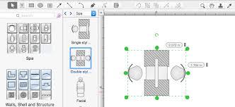 creating a spa floor plan conceptdraw helpdesk