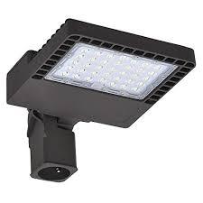 led street light fixtures cyled 150w led shoebox pole light 17 800 lumens parking lot lights