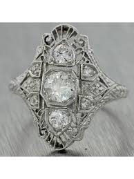 art deco engagement rings antique u0026 vintage engagement rings