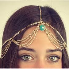 fashion hairbands for chain shining artificial tiaras