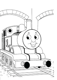 free thomas train coloring sheets pages kids