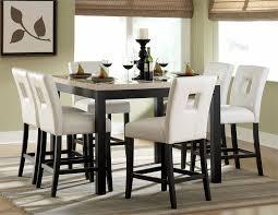 high dining room table sets modern black dining room sets marceladick com