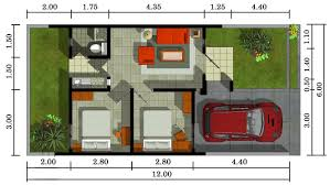 layout ruangan rumah minimalis contoh gambar denah rumah minimalis type 36 terbaru