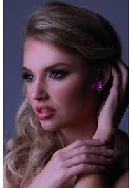 led earrings earrings pink