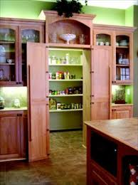 Behind The Door Cabinet Hidden Walk In Pantry This Extra Large Walk In Pantry Is