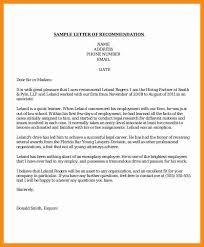 8 professional letter of recommendation laredo roses