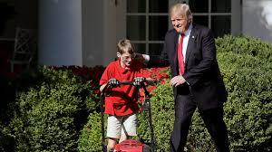 11 year old boy fulfills wish to mow white house lawn kifi