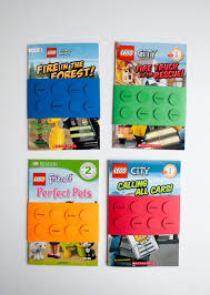 easy diy lego book birthday party favors and tags merriment design