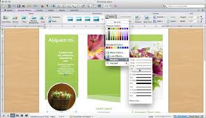 microsoft word publishing layout view how to make a brochure in microsoft word for a mac