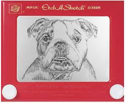 dog art today etch a sketch turns 50