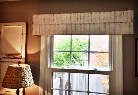 handmade window valance custom window treatment wooden