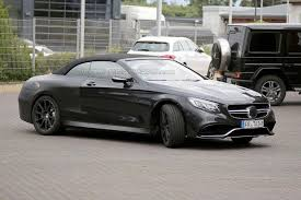 mercedes amg s500 photos of mercedes amg s63 cabriolet emerge