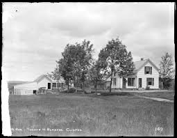 House And Barn by Wachusett Reservoir Thomas H Burgess U0027 House And Barn From The