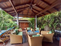 covered outdoor seating manuel antonio rental casa samba luxury rental with private pool