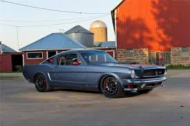 ring brothers mustang for sale 1966 ford mustang ringbrothers bailout fastback mustangs