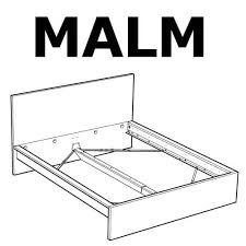 ikea malm bed frame high bed replacement parts u2013 furnitureparts com